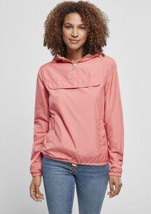 Urban Classics Damen Jacke Ladies Basic Pull Over Jacket Pale Pink-S