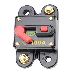 100A 12V/24V Automatiksicherungshalter Sicherung Automat Schalter für Auto/ Boot
