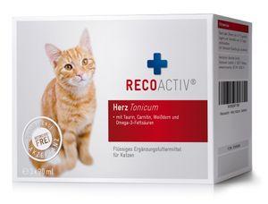 RECOACTIV® Herz Tonicum für Katzen, 3 x 90 ml