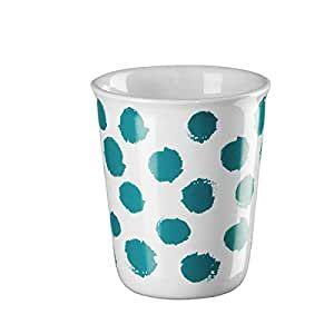 ASA Becher Espresso, turquoise spots   COPPETTA D. 6,5 cm, H. 7 cm, 0,1 l.     44014214