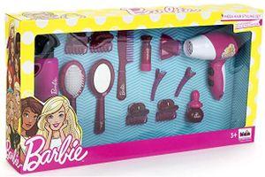 Theo Klein 5800 Barbie Mega Frisierset Mädchen mit Fön Styling