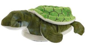 Schildkröte Tierhausschuhe 2552S Plüsch Hausschuhe Gr. 43/44