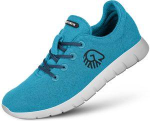 Giesswein Merino Wool Runners Damen cyanblau Schuhgröße EU 36