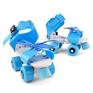 Rollschuhe Verstellbar Kinder, Gr. 27-35, Skateschuhe für Junge Mädchen Anfänger