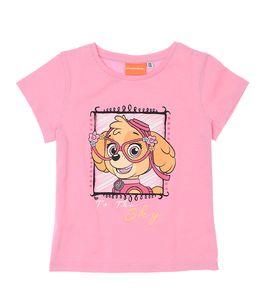 Paw Patrol Kinder und Baby kurzarm T-Shirt Rosa Gr. 110-116