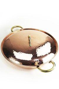 'CopperGarden®' XXL Kupferpfanne 36cm mit Deckel