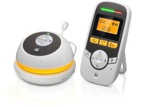 Motorola MBP169 Babyphone - Tragbar - Nachtlicht - Mikrofon mit Gegensprechfunktion - Baby Care Timer
