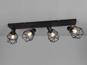 Industrielampen Deckenstrahler Gitterlampen Deckenleuchte Industrial Flurlampen