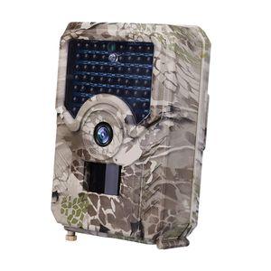 Wildkamera 1080P FHD 120 Grad Weitwinkel mit bewegungsmelder Infrarot Nachtsicht Jagdkamera Überwachungskamera IP65 Wasserdicht für Jagd, Tier
