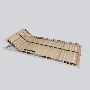 """Lattenrost von Behren """"Easyfix K"""", 100 x 200 cm, 7 Zonen, 28 Leisten, Kopfteil manuell verstellbar"""