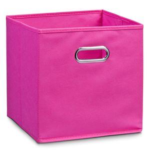 Zeller Aufbewahrungsbox, pink, Vlies 32x32x32