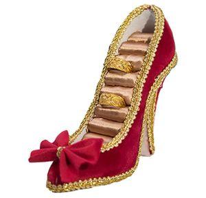 High Heel Schuh Schmuckständer,Schmuck Ausstellungsstand Ringhalter Schmuckhalter Ohrring Ständer Ringhalter Elegant Schuh Schmuckständer,Elegantes Rot