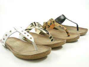 SPM 15695471 Lynx Schuhe Damen Zehentrenner, Größe:38 EU, Farbe:Beige