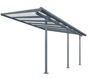 Palram - Canopia Terrassenüberdachung 3x5,5 m Sierra grau Terrassendach Balkondach Überdachung Vordach Unterstand
