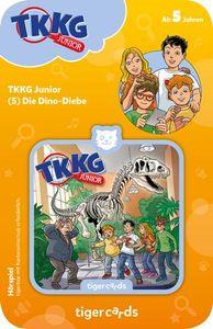 tigercard - TKKG Junior (5): Dino-Diebe - Tigermedia Karten