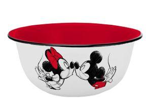 Müslischale Mickey Kiss Sketch rot Emaille-Optik