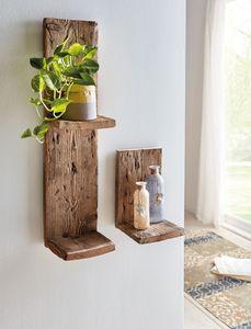 Regal 'Rustic' praktisch Ordnung Möbel Garten Terrasse, recyceltes Palettenholz
