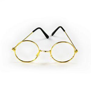 Oblique Unique Brille Rund Oma Opa ohne Gläser Verkleiden Weihnachtsmann Nikolaus