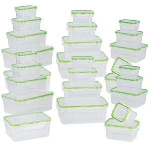 Frischhaltedosen Set Klick-It Gefrierdosen Lunchbox Mikrowelle Brotdose 28 Stück