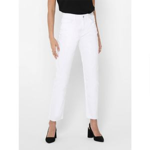 Only Emily Life Hw St Crop Ankle Col White 28