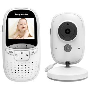 Babyphone 2.0 Zoll HD Babyphone mit Kamera Video Überwachung Smart Baby Monitor TFT LCD Digital dual Audio Funktion, VOX, Schlafmodus, Nachtsicht, Temperatursensor, Schlaflieder 602