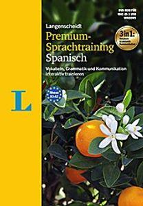 Langenscheidt Premium-Sprachtraining Spanisch - DVD-ROM