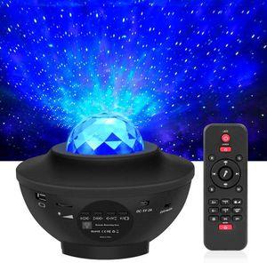 LED-Projektor Sternenhimmel Licht Sternenhimmel Mond / Wasserwelleneffekt / Bluetooth-Lautsprecher mit Fernbedienung ist  geeignet für Party Weihnachten, Ostern, Halloween 12 Stk