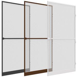 Alu Insektenschutz Tür Comfort 100 x 215 cm, Farbe:Weiß