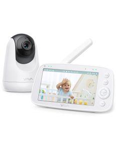 VAVA Babymonitor, mit Kamera zur Überwachung für Baby und Kind, kabellos mit Gegensprechanlage
