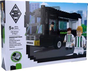 Borussia Mönchengladbach Mannschaftsbus aus Bausteinen, 228-teilig