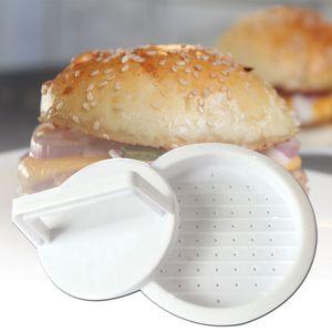 Rundes Hamburger Fleisch Rindfleisch Presswerkzeug Burger Patty Maker Kunststoff Kš¹chenform 62,16 g
