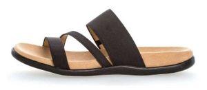 Gabor Damen Sandale Schwarz Schuhe, Größe:40