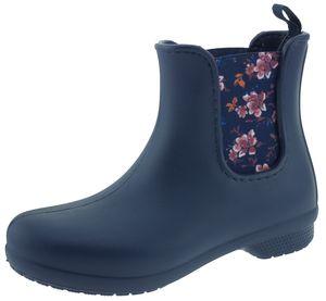 Crocs Freesail Chelsea Boot Women navy/floral, Größe:34/35