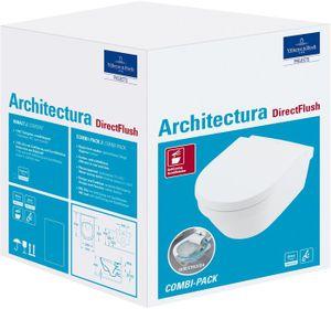 V&B Combi-Pack ARCHITECTURA DirectFlush weiß C+