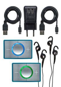 Ceecoach 2 Kit Duo Kommunikationssystem, Farbe:türkis