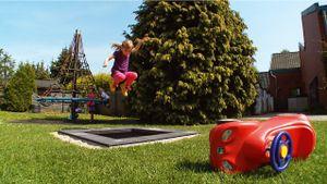 """Eurotramp Kids Tramp """"Playground Mini"""", Sprungtuch eckig, Mit Zusatzbeschichtung"""