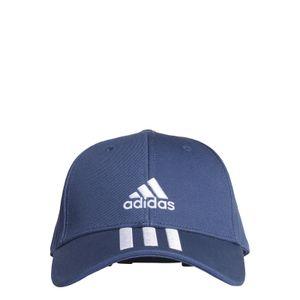 adidas Performance Kinder Schildkappe BASEBALL 3 STRIPES CAP COTTON TWILL blau