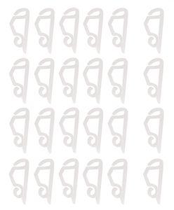 24er Set Dachrinnenhaken für Lichterketten