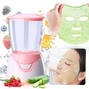 DIY Gesichtsmaske Maschine automatische Obst und Gemüse natürliche Kollagen Gesichtsmaske Maschine Gesicht SPA Schönheit, rosa