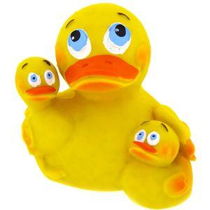 Badeente - Mama Duck - aus Kautschuck Gummiente Quietscheente