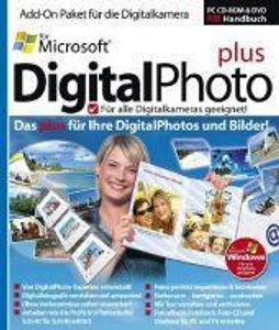 Microsoft DigitalPhoto Plus, CD-ROM, DVD-ROM u. Handbuch