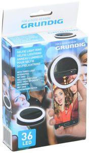 36x LED GRUNDIG Selfie Licht Selfielichtring Selfielicht Ringlicht