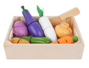 Küchenspielzeug Obst Gemüse Schneiden Lebensmittel Set Messer Brett 11207