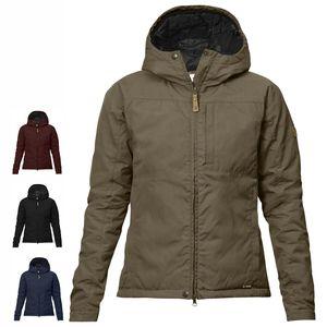 Fjällräven Kiruna Padded Jacket W, Size:S, Color:Dark Navy (555)
