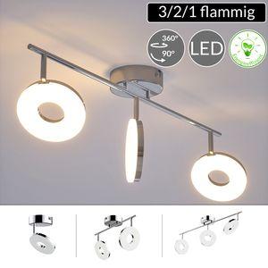 Monzana LED Deckenlampe Deckenleuchte Deckenstrahler Spotleuchte Lampe Strahler, Variante:3 Flammig