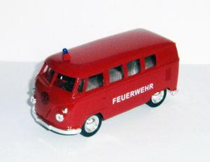 VOLKSWAGEN Bus T1 1963 Feuerwehr VW Modell Modellauto Spielzeugauto 28 (Feuerwehr)