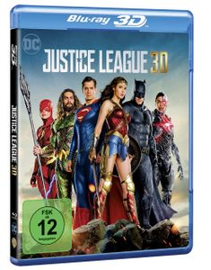 3D Blu-ray Justice League