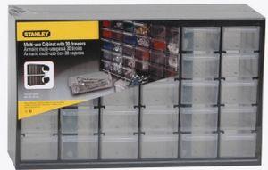 STANLEY Kleinteilemagazin mit 30 Fächern 37 x 23 x 16 cm  Lagersichtkasten   1-93-980