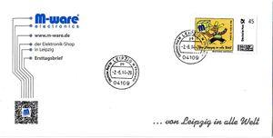 FDC mit Mexikaner-Briefmarke, Serie M-ware® ID14512