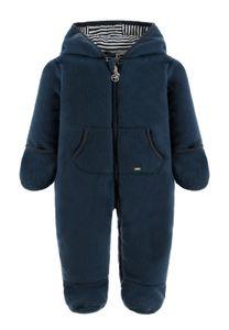 Kanz® Baby Fleece Wagenanzug Overall , Größe:68, Präzise Farbe:Blau